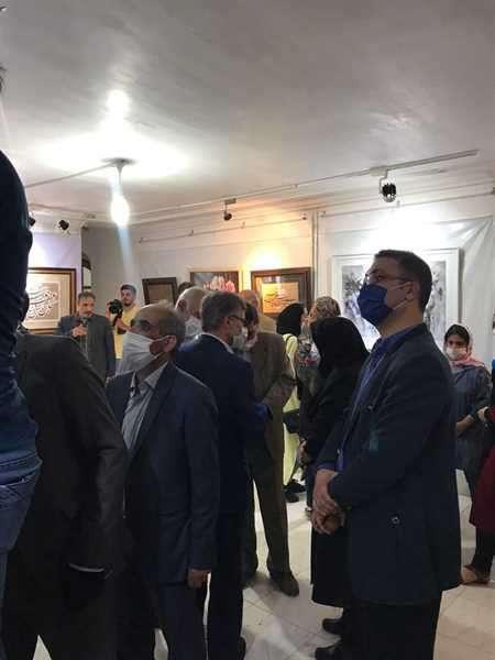 برگزاری نمایشگاه آثار هنرمندان خوی در نگارخانه ساختمان شورای شهر خوی