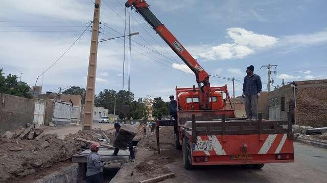 احداث کانال سرپوشیده خیابان بهشتی