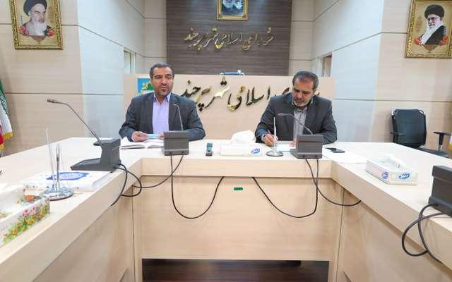 رئیس شورای اسلامی شهر بیرجند در دیدار با نماینده منتخب مطرح کرد
