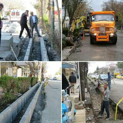 آغاز عملیات اجرایی بزرگترین پروژه عمرانی و زیباسازی در تاریخ شهر و شهرداری فریمان