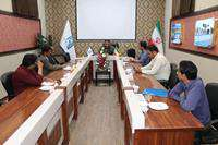 دیدار و عرض تبریک اعضای کانون خبرنگاران شهرستان به مهندس روحبخش سرپرست شهرداری بجستان