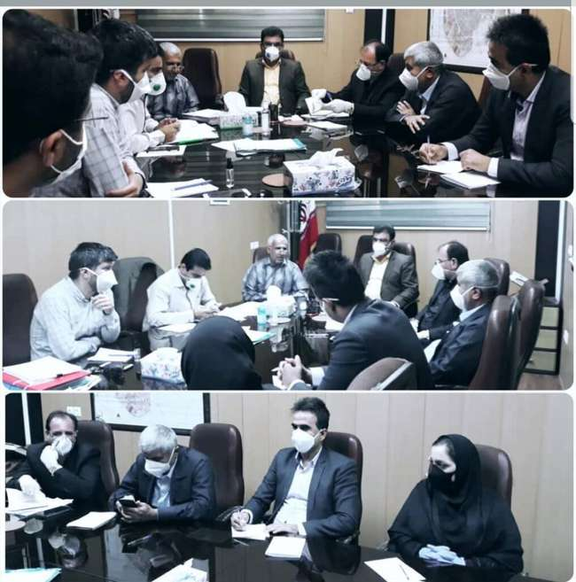 جلسه مشترک نماینده منتخب شهردار ، فرماندار و اعضای شورا