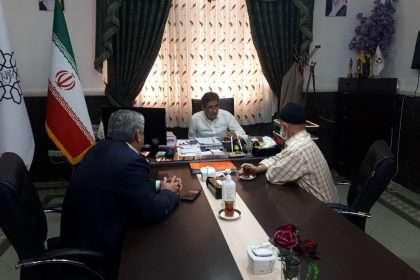 دیدار رئیس کمیته امداد امام خمینی شهرستان دامغان با شهردار