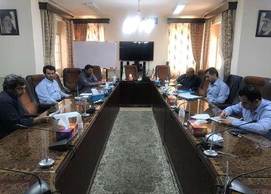 جلسه کمیسیون عمران با موضوع بررسی اولویت های پروژه های عمرانی در سال ۱۳۹۹