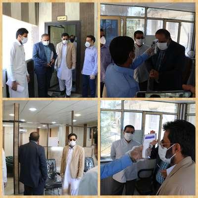 بازدید مدیرکل دفتر امور شهری و شوراهای استانداری سیستان و بلوچستان از شهرداری ایرانشهر