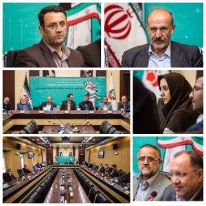 تجلیل از جانبازان شاغل در شهرداری قزوین