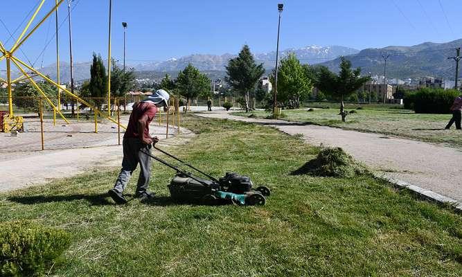بهبود وضعیت فضای سبز شهر یاسوج/عکس