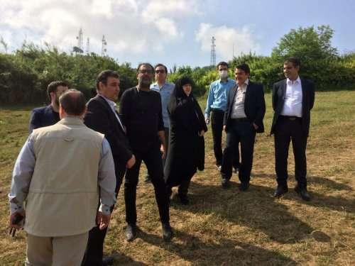 بازدید اعضای شورای اسلامی شهر گرگان از پروژه شهر بازی