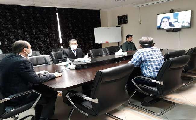 جلسه ویدئو کنفرانس هماهنگی مدیریت بحران و پدافند غیرعامل