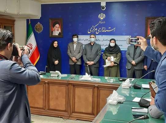 تقدير استاندار مركزي از روابط عمومي شركت آب و فاضلاب استان مرکزی