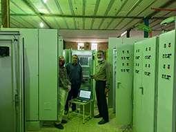 ساخت تابلوهای سیستم مانیتورینگ جدید نیروگاه دز