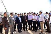 بازدید معاون عمرانی استانداری خوزستان و مدیرعامل از پروژه های برق منطقه ای خوزستان