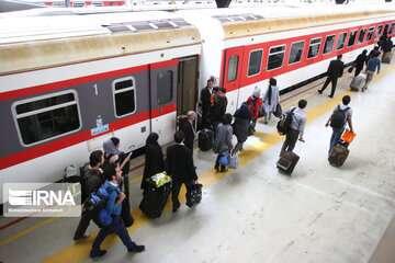 قطار زنجان - تهران دوباره راه اندازی شد