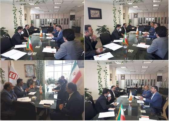 جلسه هماهنگی با بانک مسکن در خصوص پروژه های طرح اقدام ملی مسکن