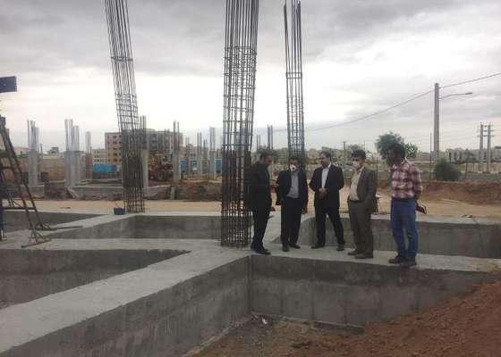بازدید مدیرکل راه و شهرسازی از پروژه های طرح اقدام ملی مسکن