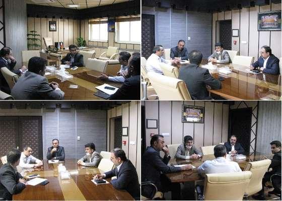 نشست مشترک راه و شهرسازی با بنیاد مسکن در خصوص بررسی پروژه های طرح اقدام ملی مسکن