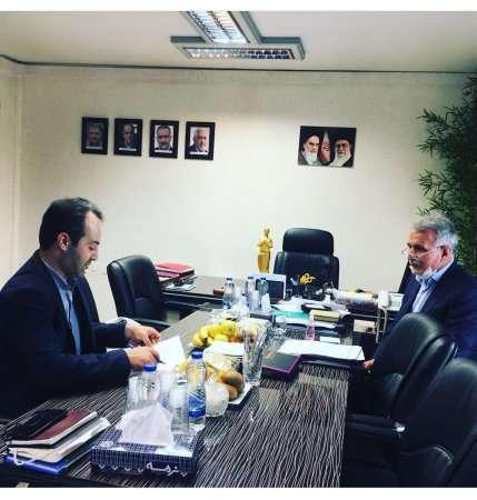جلسه رییس سازمان نظام مهندسی ساختمان استان اردبیل با رییس نظام مهندسی کشور