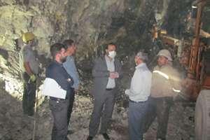 60  مترتا پايان حفاري تونل كيلومتر5  بزرگراه ايلام- مهران