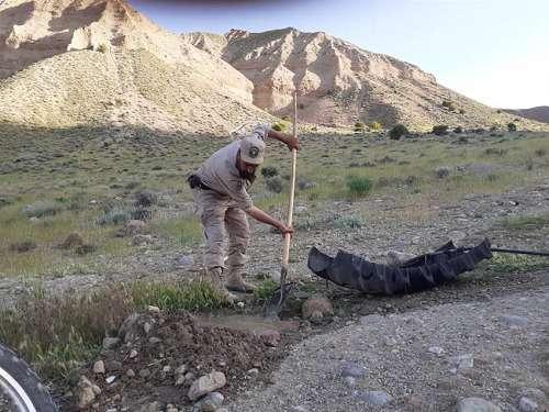 مرمت و لایروبی آبشخورهای حیات وحش در فیروزکوه/ افزایش نظارت ها همزمان با فصل زایمان حیات وحش