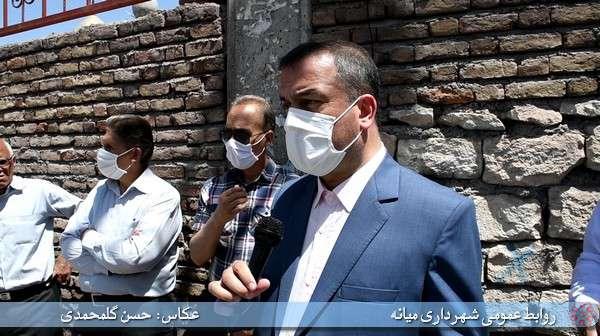 تاکید فرماندار میانه بر اجرای متناظر عناصر مکمل طرح پیاده راه خیابان امام خمینی