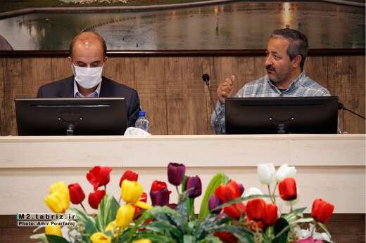 پروژه های عمرانی شهرداری منطقه ۲ تبریز مورد بررسی قرار گرفت