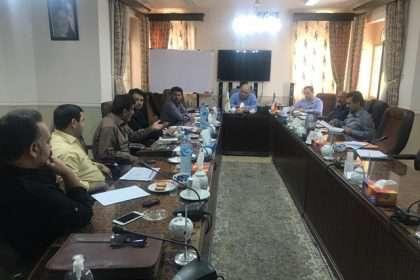 جلسه بررسی گزارش حسابرسی سال ۱۳۹۷ شهرداری در صحن شورای اسلامی شهر