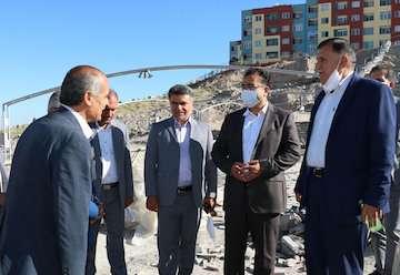 آغاز عملیات اجرایی پروژه ۳۹۰ واحدی طرح اقدام ملی مسکن در شهر جدید سهند