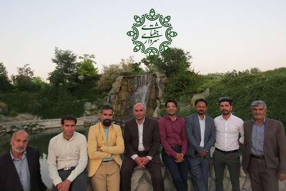 بازدید  شورای اسلامی، شهردار و جمعی از پرسنل شهرداری از پارکهای گیاهشناسی، خورشید، پارک وفا و چالیدره…