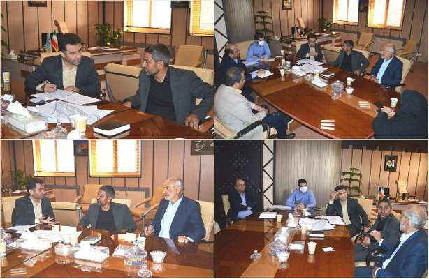 نشست مشترک بخشدار و اعضای شورای اسلامی بخش خلجستان با مدیرکل
