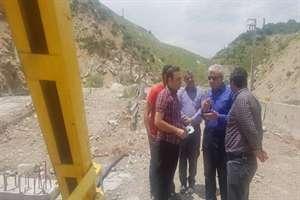تلاش برای اتمام و افتتاح پل گلوکان در تیرماه 1399