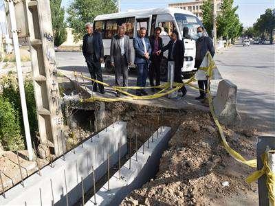 شهردار بروجن به همراه اعضاي شوراي اسلامي شهر بروجن   از برخي پروژههاي در حال اجراي شهرداري بروجن  بازديد بعمل آوردند