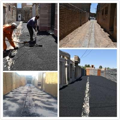 زیرسازی و آسفالت خیابان شهید مدرس 5