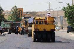 عملیات آسفالت معابر شیراز از ابتدای خرداد آغاز شده است