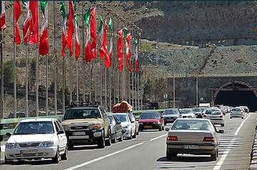 اعلام محدودیتهای ترافیکی۱۳ تا۱۷ خرداد/ ممنوعیت تردد بهدلیلمداخلات جوی در ۶ محور