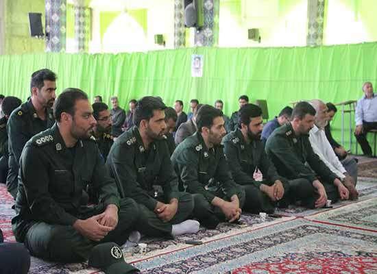 مراسم رحلت حضرت امام خمینی(ره) و شهدای ۱۵ خرداد در مسجد براستین