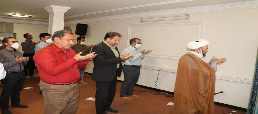 اقامه نماز جماعت در شرکت