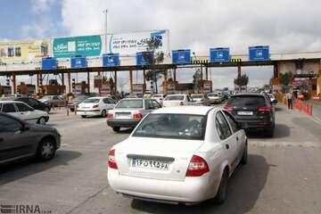 افزایش ترافیک در جادههای شمالی در آستانه تعطیلات پایان هفته