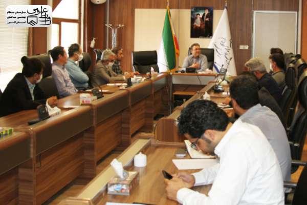 نشست هماهنگی مدیران واحد ها با ریاست سازمان برگزار شد