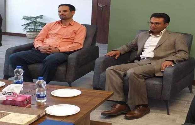 دیدار رئیس سازمان با مدیر کل نوسازی توسعه و تجهیز مدارس استان