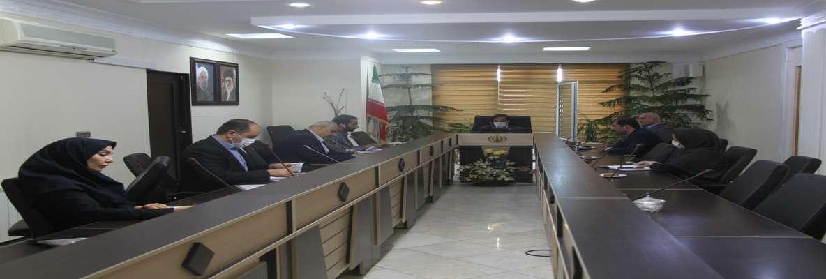 جلسه ستاد راهبری طرح اقدام ملی به ریاست مهندس رضایی – مدیرکل راه و شهرسازی استان البرز برگزار شد.