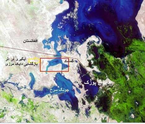 آبگیری اصلی ترین کانون گرد و غبار در سیستان