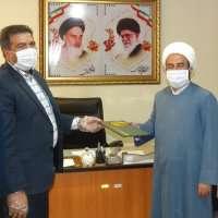دیدار اعضای شورای اسلامی شهر سنندج با مدیر کل اوقاف و امور خیریه استان کردستان