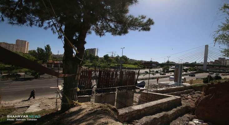 آخرین وضعیت پروژه پل همسان کابلی/ تلاش برای اتمام پروژه تا پایان تابستان