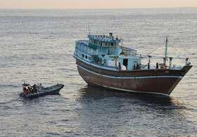 """ادامه جستوجوی مفقودین شناور """"بهبهان"""" در آبهای عراق"""