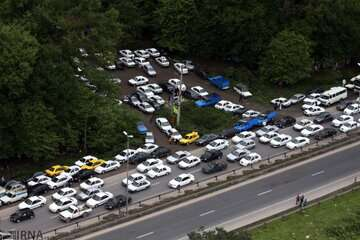 ترافیک سنگین در مسیر شمال به جنوب هراز و چالوس