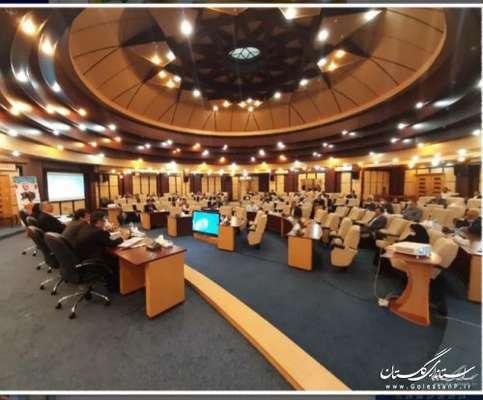 سی و هشتمین جلسه قرارگاه بازسازی مناطق سیلزده استان (۹۹/۳/۱۳)