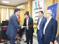 مراسم معارفه فرمانده بسيج شرکت توزیع نیروی برق استان لرستان برگزار شد.