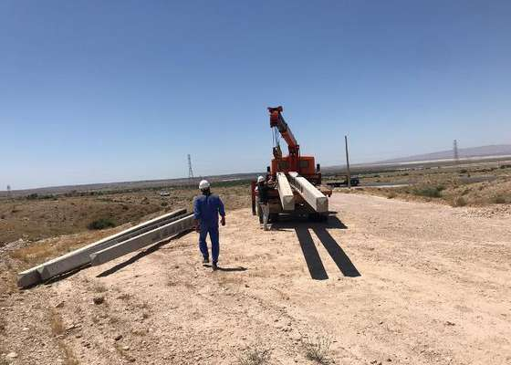 عملیات برق رسانی به دو پاسگاه محیط بانی بوشهر آغاز شد