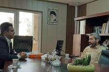 بازدید عبدالزهرا سنواتی رییس شورای شهر اهواز از سازمان سرمایه گذاری و مشارکت های مردمی شهرداری اهواز