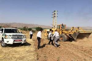 پنج هکتار ازاراضی ملی استان مرکزی از ید متصرفان خارج شد